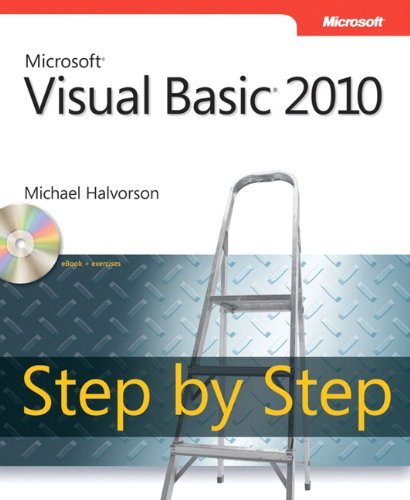 Microsoft Visual Basic 2010 Step By Step Book CD Package