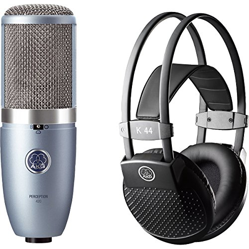 Akg Perception 420 Condenser Mic With K44 Mkii Headphones