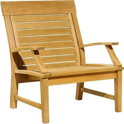 Oxford Garden Sutton Shorea Armchair, Natural