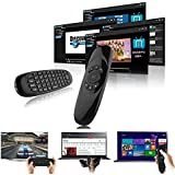 iRainy 2.4GHz Mini Portable Wireless Mouse Remote Air Control Keyboard 3D Somatic Handle 6-Axis  for PC HTPC Android TV Boxes Network Media Players Tablet Game Player