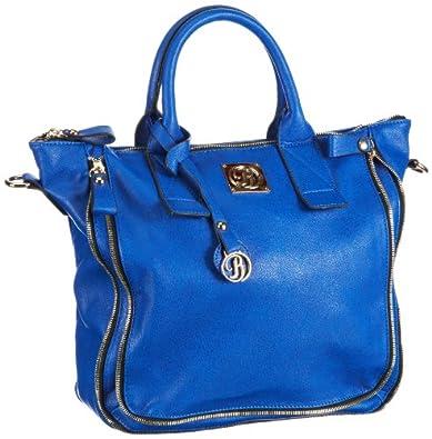 Buffalo Bag 601615, Sac porté main - Bleu (Blue), Taille Unique