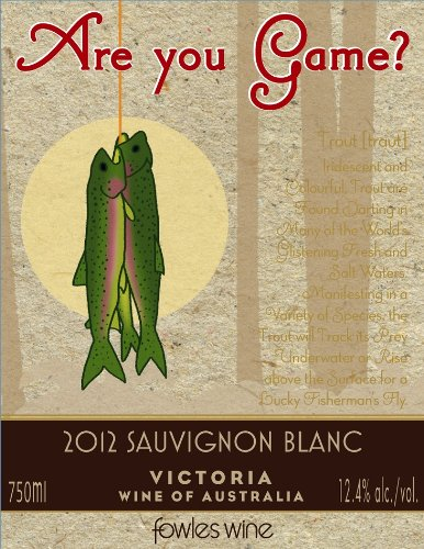 2012 Are You Game? Sauvignon Blanc 750 Ml