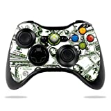 Protective Vinyl Skin Decal Cover for Microsoft Xbox 360 Controller wrap sticker skins Phat Cash