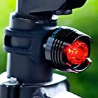 Uctech Front Safety Light 1 LED Taillight - Waterproof Bike Headlight - 2 for 1 Deal - High Power LED Red Light