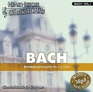 Bach [vol. 1]: Brandenburg Concertos Nos. 1, 2, 3 & 4