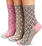 Miss Outrage Women's 3-Pack Gift Set Socks