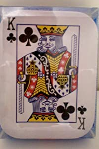"""Deal Me In -- Plate Set of Four -- Ace, King, Queen, Jack -- Factory Packaging -- 6.5"""" x 8.5"""" -- as shown"""
