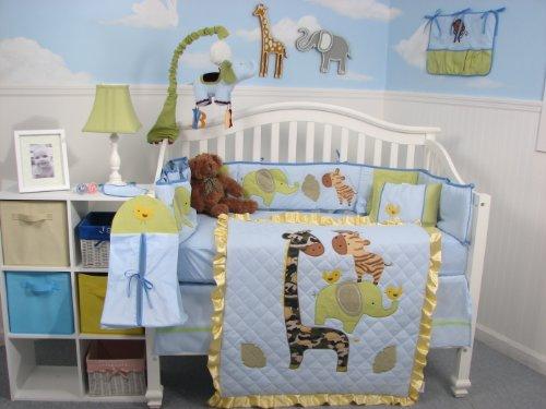 "SoHo Team ""Amazing"" Baby Crib Nursery Bedding 10 Pcs Set"