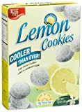 Niche Foods, LLC Lemon Cookies, 10-Ounce Boxes (Pack of 6)