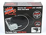 "Anti theft Siren Alarm Multipurpose Compact Portable Electronic Safe with Sensor for Home, Office, Shop, Jewellery - Ultra Hard Steel Cable - 60 cm (110 Decibel) - European Standards & No False Alarm, Branded - ""Lock Alarm USA"""