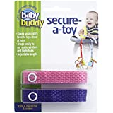 Baby Buddy Secure-A-Toy, Pink/Purple
