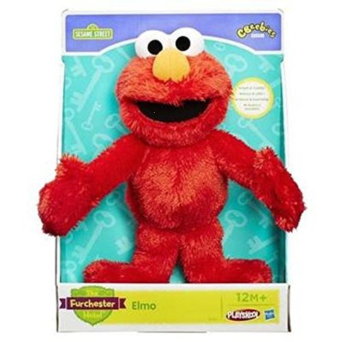 Hasbro - Peluche Sesame Street Cookie Monster, da abbracciare
