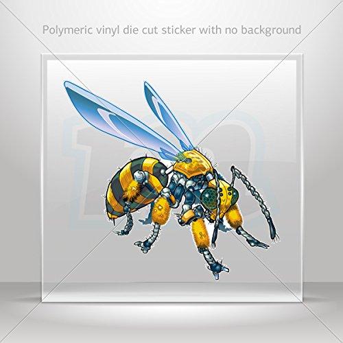 Decals Sticker Robot Hornet Wasp Motorbike Vehicle Weatherproof Garage Durable Bicycles 0500 X3444 front-606819