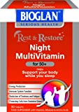 Bioglan Rest and Restore Night Multivitamin for 50 Plus