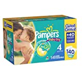 Pampers Baby Dry Diapers Size 4 Giant Pack 140 Count