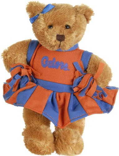 51e4FXTvBmL Cheap Price UF Gators By Plushland 8 Cheerleader Bear
