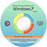 Windows 7 ANY Version 64 Bit and 32 Bit Home Basic, Home Premium, Professional, or Ultimate, Repair, Recovery, Restore, Re Install, Reinstall Fix Boot Disk DVD