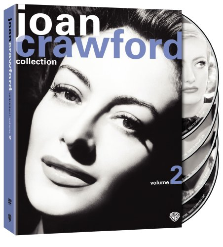 Cover art for  The Joan Crawford Collection, Vol. 2 (A Woman's Face / Flamingo Road / Sadie McKee / Strange Cargo / Torch Song)