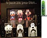 Disney Parks Twlight Zone Tower Of Terror 5x7 Picture Frame - Disney Parks Exclusive & Limited Availability + BONUS Donald Duck Double Sided Stamp Included