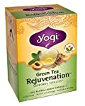 Green Tea Rejuvenation, Herbal Supplement, Yogi Tea, 16 bags