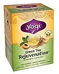 Green Tea Rejuvenation, Herbal Supplement, Yogi Tea, 16 bags