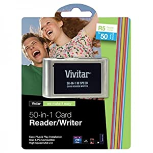 VIVITAR 50-In-1 Card Reader VIV-RW-50 by Vivitar