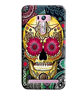 Omnam White Stripes And Other Color Combination Printed Back Cover Case For Asus Zenfone Selfie