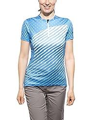 Zimtstern Becca Downhill Jersey Ladies blue 2015