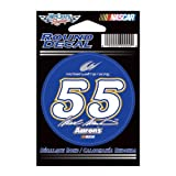 Mark Martin Official NASCAR 3 inch Diameter Vinyl Car Decal by Wincraft