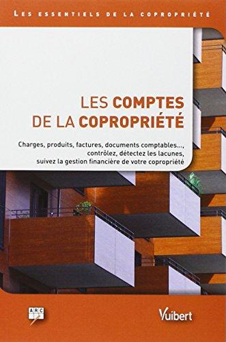 Les comptes de la copropriete charges produits factures documents comptabl - Calcul charges de copropriete ...