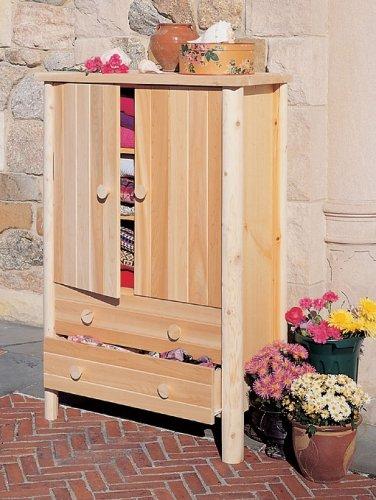 Rustic Natural Cedar Furniture Company® Cedar Log Armoire