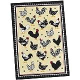 Country Kitchen Chicken Coop Flour Sack Kitchen Towel