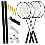 CostMad 4 Player Badminton Outdoor Ga...