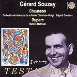 echange, troc Chausson & Duparc, Gérard Souzay, Dalton Baldwin - Gérard Souzay sings Chausson & Duparc