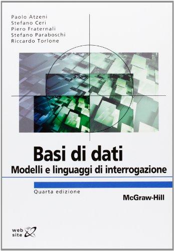 Basi di dati Modelli e linguaggi di interrogazione PDF