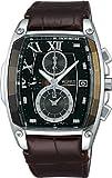 [ワイアード]WIRED 腕時計 REFLECTION リフレクション トノー型 クロノグラフ モデル AGAV039 メンズ