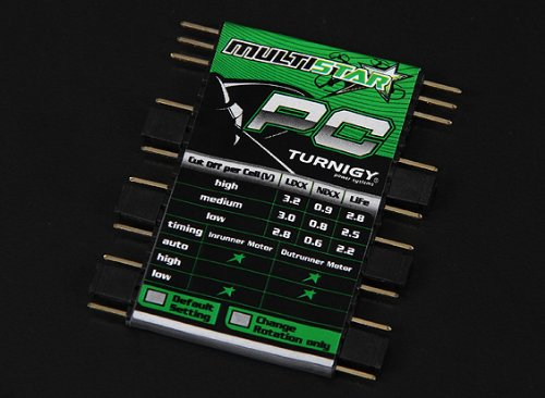 Turnigy Multistar ESC Programming Card (Programming Card Esc compare prices)