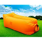 Air Lounger with Carry Sack - by THE FUN COMPANY - Inflatable Couch | Sofa | Bed | Chair | Mattress | Bean Bag - Perfect for Holiday Gift