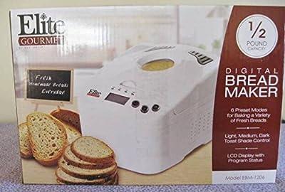 Elite Gourmet Digital Bread Maker by Elite Gourmet