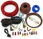 PK8 - Focal Audio 8 AWG (Gauge) Performance Series Power Amplifier Wiring Kit