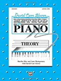 img - for David Carr Glover Method for Piano Theory: Level 1 book / textbook / text book