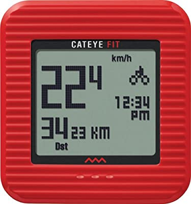 Cateye Fit Wireless Cycling Computerwalking Pedometer by CATEYE