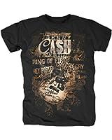 JOHNNY CASH - LYRICS T-Shirt