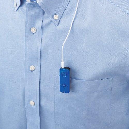 Logitec iPhone5/4/4S/3GS/3G スマートフォン対応 Bluetooth レシーバ タフバッテリー AR120シリーズ ブルー LBT-MPAR120BU