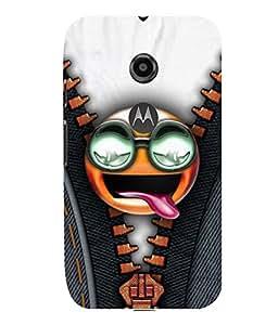 printtech Funny MEME Chain Back Case Cover for Motorola Moto E2::Motorola Moto E (2nd Gen)