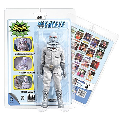 Batman 1966 CLASSIC TV SERIES 4 ACTION FIGURE: Mr. Freeze