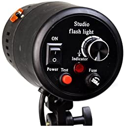CowboyStudio 160 Watt Photo Studio Lighting, Mono Master Strobe Flash Light