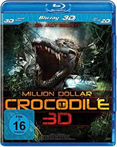 Amazon.com: Million Dollar Crocodile - Die Jagd Beginnt [3d Blu-Ray