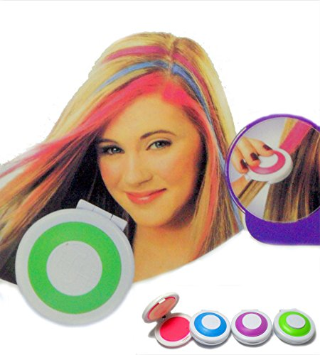 TINTA TEMPORANEA PER CAPELLI TINTURA 4 COLORI PARTY FESTA COSPLAY HAIR ART NEW