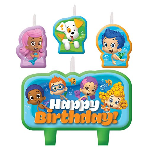 Bubble Guppies Birthday Candle Set - 1